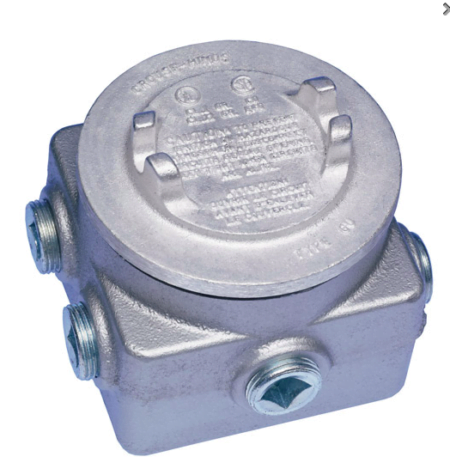 explosion proof box top view