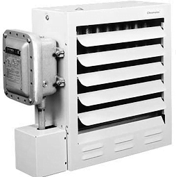 explosion proof heater side view