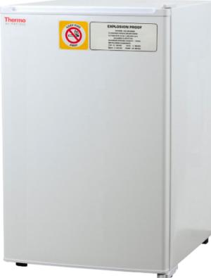 explosion proof refrigerator door closed