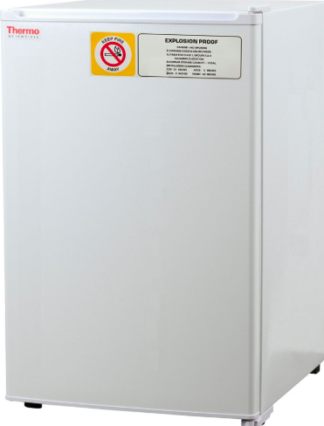 explosion proof refrigerator door closed
