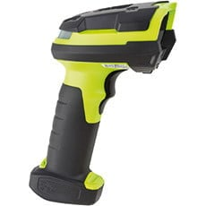 Intrinsically Safe Barcode scanner side view