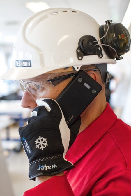 Intrinsically Safe Cell Phone talking in an explosion proof area