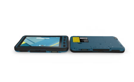 Intrinsically Safe Lumen X7 Tablet laying down
