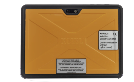 Intrinsically Safe Microsoft Surface Pro 2017 5th Gen Case Back Image