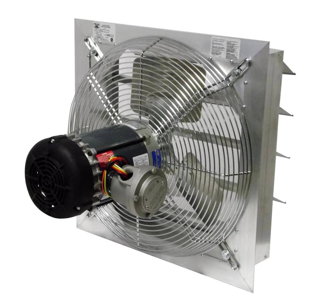 Explosion Proof Fan >> Axial Explosion Proof Fan Canarm Ax20 4 Inch Fan Size