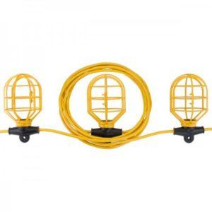Bayco 100' String Light w Non-Metallic Lamp Guards (10 Lamps) SL-7408 Main image