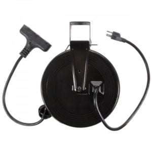 Bayco 30ft Retractable Metal Cord Reel with 3 Outlets - 13amp SL-801 Main image
