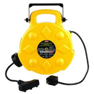 Bayco 50ft Retractable Polymer Cord Reel w 3 Outlets - 13amp SL-8903 Main image
