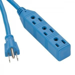 Bayco 6.5ft. 3 Outlet Cold Weather Extension Cord - 13amp SL-763 Main image