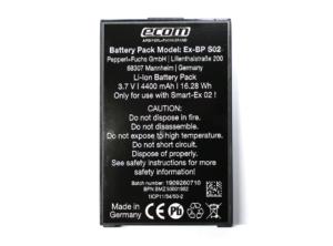 Ecom Battery pack for Smart-Ex® 02 DZ1 & DZ2 Main Image