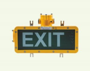Explosion-proof Emergency Exit Light Fittings Warom BAYD 85 Series