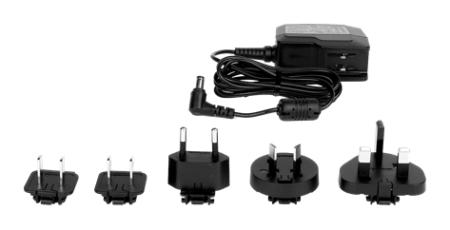 Getac EX80 AC ADAPTER SET with US EU UK CHN ANZ Plug Main image