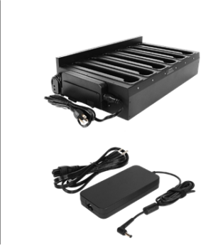 Getac EX80 Six Bay Charger with 120W AC Adapter Main Image