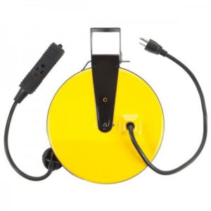 Intrinsically Safe 30ft Retractable Metal Cord Reel with 3 Outlets - 10amp Bayco - SL-800 Main image