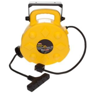 Intrinsically Safe 40ft Retractable Polymer Cord Reel w 4 Outlets - 15amp Bayco SL-8904-40 Main image