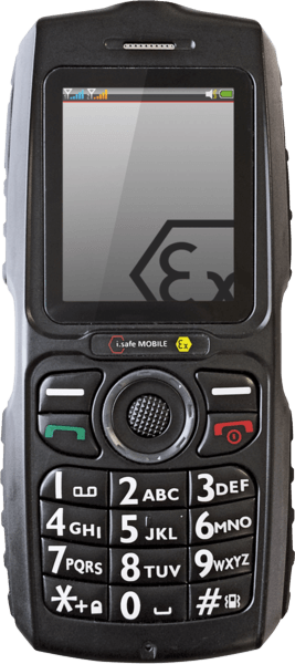 Intrinsically Safe Cell Phone I.Safe Mobile CHALLENGER 2.0 Image Main Challenger
