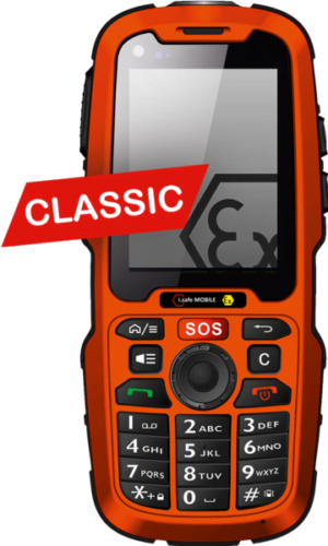Intrinsically Safe Cell Phone i.Safe Mobile IS320.1 Classic