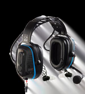 Intrinsically Safe Dual Hearing Protection Headset SM1P02 ISDP Series Main Image