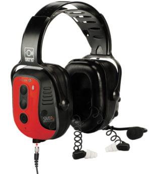 Intrinsically Safe Dual Hearing Protection Headset Sensear SM1PBEXDP02 Series-Main image
