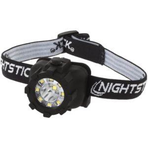 Intrinsically Safe Dual Light LED Headlamp - Black Nightstick NSP-4604B Main image