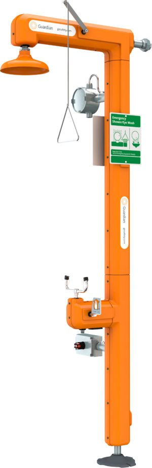 Intrinsically Safe Eyewash Station Guardian Equipment GFR3200