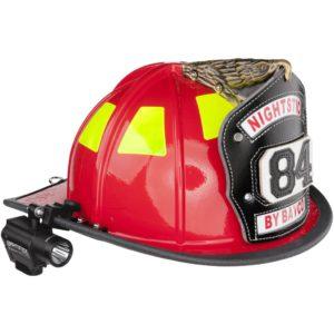 Intrinsically Safe Fortem Helmet-Mounted Multi-Function Dual-Light Flashlight Nightstick NSP-4650B Main