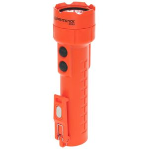 Intrinsically Safe Rechargeable Dual-Light® Flashlight W Dual Magnets Nightstick NSR-2522RM Main