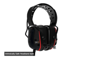 Intrinsically Safe Sensear SSM1R(IS) Headband Two-Way Radio only (cable required)
