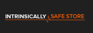 Intrinsically Safe Store Logo hi black background
