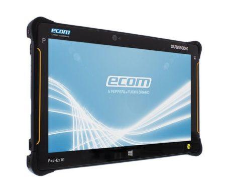 Intrinsically Safe Tablet Ecom Pad-Ex 01 HR DZ2 - Windows Side View