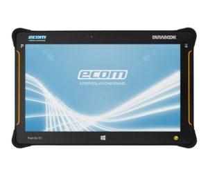 Intrinsically Safe Tablet Ecom Pad-Ex 01 HR D2