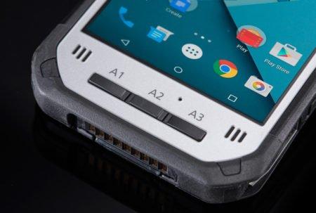 Intrinsically Safe Tablet Panasonic FZ-N1 Bottom View