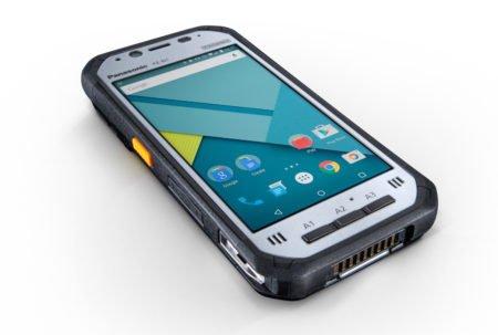 Intrinsically Safe Tablet Panasonic FZ-N1 Laying Down