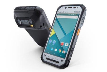 Intrinsically Safe Tablet Panasonic FZ-N1 Side by Side
