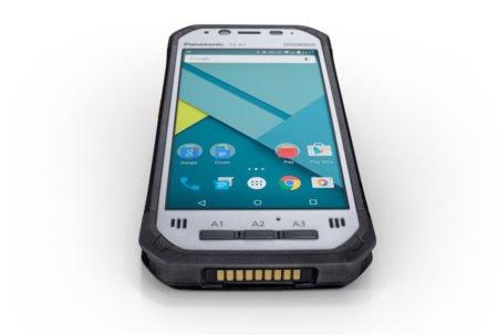 Intrinsically Safe Tablet Panasonic FZ-N1 Top View