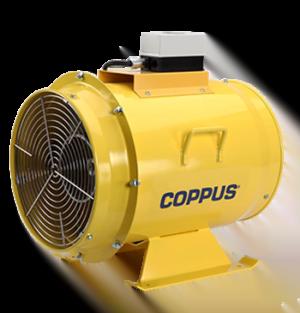 Intrinsically Safe Ventilator COPPUS TA16