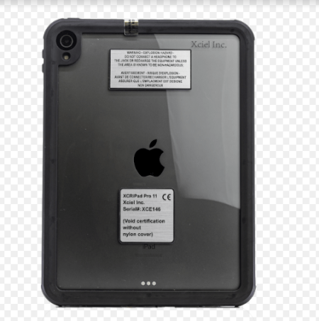 Intrinsically Safe iPad Pro 11in' 2nd Generation Case ATEX Zone 2 Back Image