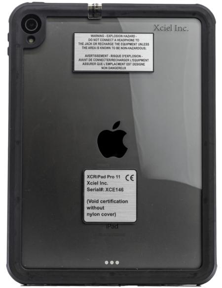 "Intrinsically Safe iPad Air 10.9"" 4th Generation Atex Case Zone 2"