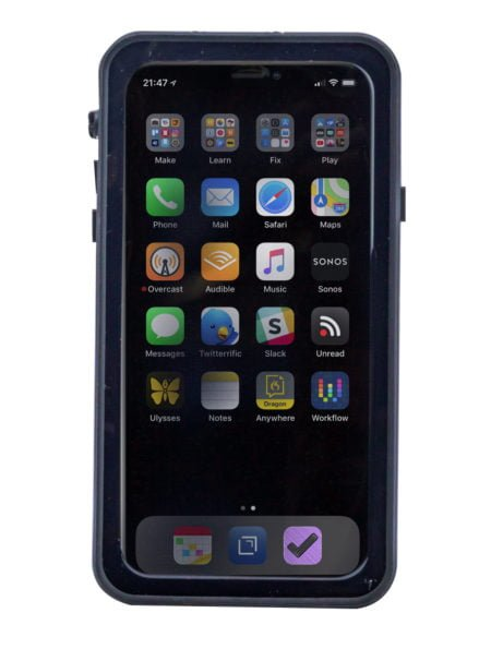 Intrinsically Safe iPhone XS Max Case ATEX Zone 2 Main Image