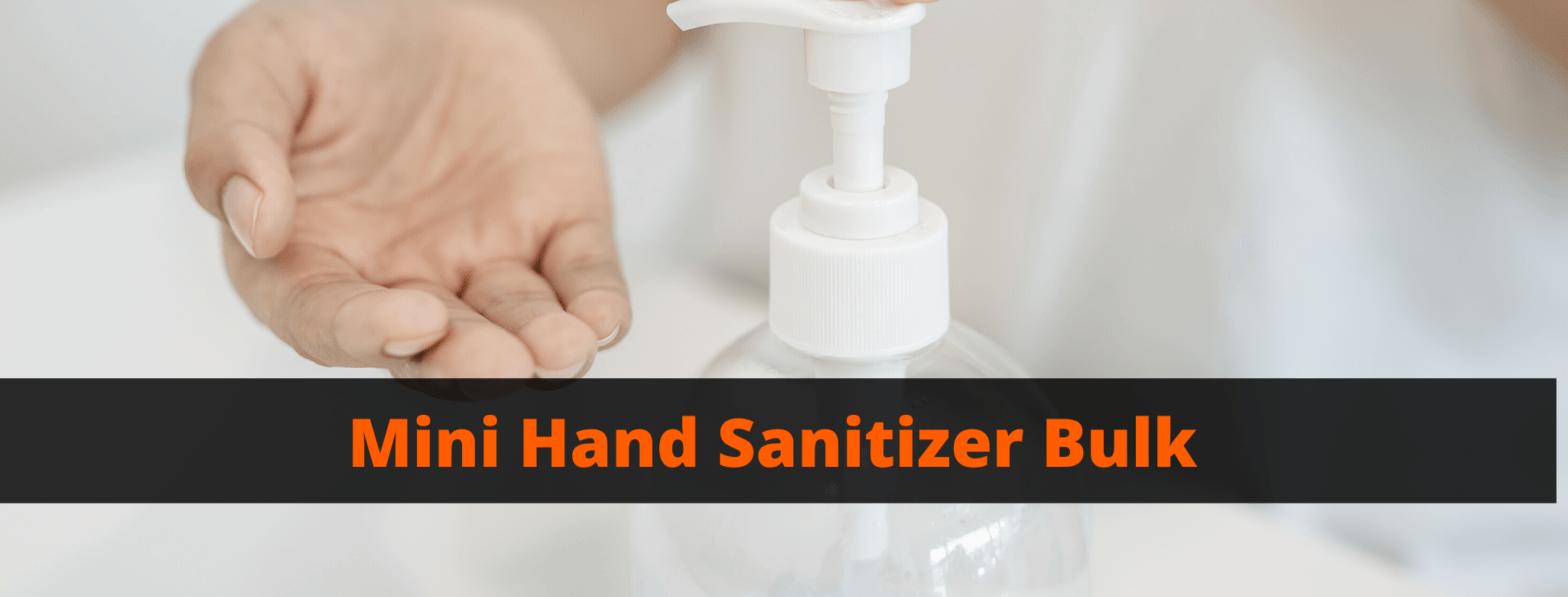 Mini Hand Sanitizer Bulk
