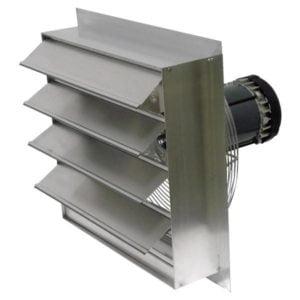 Axial Explosion Proof Fan Canarm AX16-4 Inch Fan Size aluminum