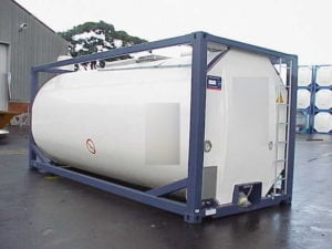 Bulk Hand Sanitizer Rail Car Tanker