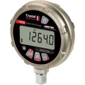 Intrinsically Safe Digital Pressure Gauge Crystal Engineering AX2KPSIXP2I