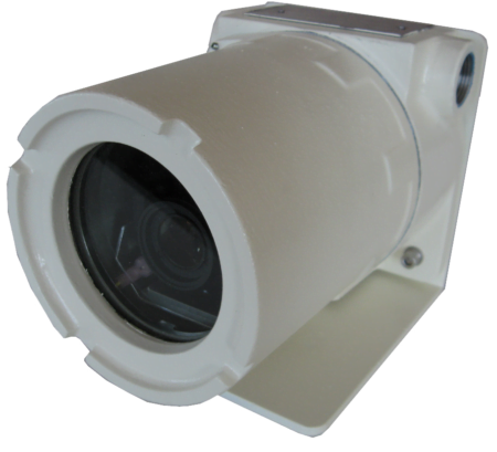 Explosion Proof CCTV Camera IVC AMZ-3041-2 X-Series Side View Product Image