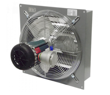 Explosion Proof Fan Canarm Back View