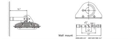 Explosion Proof Light West Durable Lighting Exdura 120 wall mount