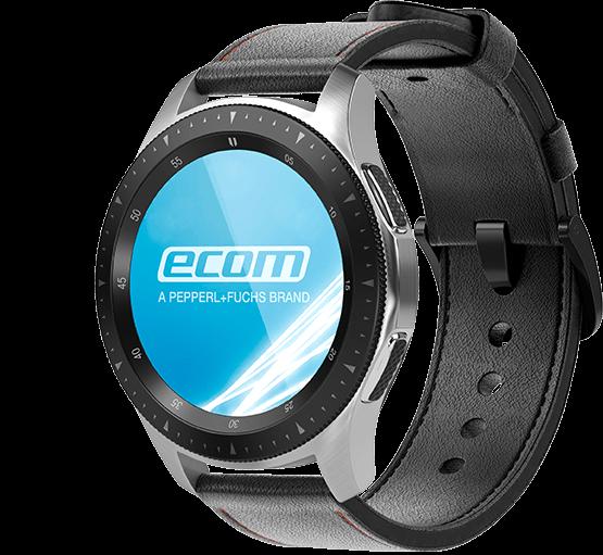 Explosion Proof Smartwatch Ecom Smart-Ex Watch 01 Side View