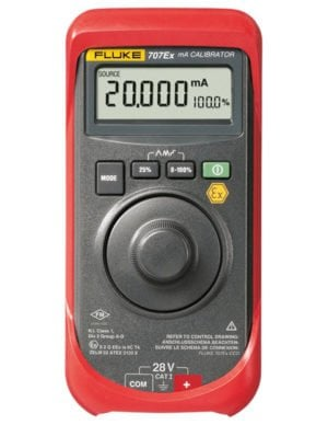 Intrinsically Safe Calibrator Ecom 707Ex Main Product image