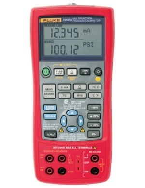 Intrinsically Safe Calibrator Ecom 725Ex Main Product Image