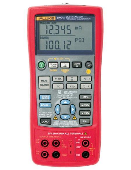 Intrinsically Safe Calibrator Ecom 725Ex Main Product Image